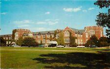 W. Lafayette IN~Purdue University Student Union~15 Bowling Lanes 1950s Postcard