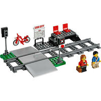 Lego City Passenger Train Railway Platform Station Level Crossing from 60051 NEW