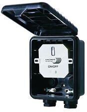 Home Easy HE866 Einbauschalter IP44 Außenbereich Außenwandschalter Outdoor 1000W
