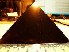 Schungit Pyramide,poliert,ca10x10cm,Karelien,mit Zertifikat!