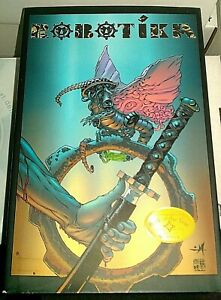 Robotika Comic Book HC Graphic Novel NM- Sci-Fi / Fantasy / Samurai
