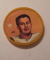 Nally's Chips (1963) - CFL Picture Discs - Tommy Grant - #49 of 100 -- Rare
