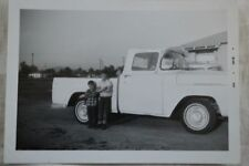 Vintage Photo 1957 1960 Ford Pickup Truck 835