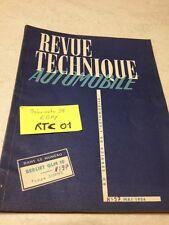 Revue Technique Automobile Camion Berliet GLM10 GLM 10 édition 1954