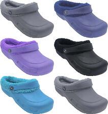 Damen Schuhe gefüttert Sandale Badeschuhe Clogs Hausschuhe Gartenclog  8852