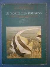 A Bonnard . LE MONDE DES POISSONS . Aquarelles de Paul Robert . 1937 .