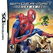 Spider-Man: Friend or Foe (Nintendo DS, 2007) Game