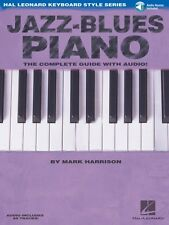 Jazz-Blues Piano - The Complete Guide with Audio Hal Leonard Keyboard 000311243