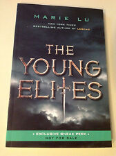 New  SIGNED  Marie Lu  The Young Elites  66 Page Exclusive Sneak Peak  + BONUS!