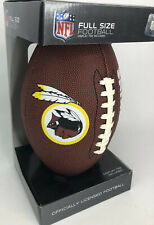 � Washington Redskins Full Size Officially Licensed Football Old Logo W/Stand�