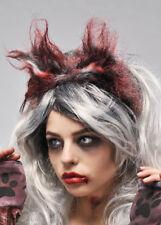 Halloween Hombre lobo orejas de lobo sangrienta
