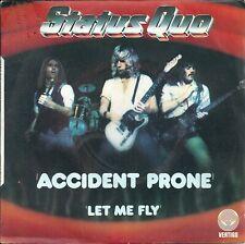 "Status Quo - Accident prone (7"") 1979 promo embossed ps FRANCE"