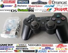 1TB Odroid XU4 Retropie+ OFFICIAL SONY Wireless PS3 Pads SATURN N64 SEGA DC SNES
