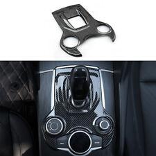 For Alfa Romeo Giulia Stelvio 2017 US Carbon fiber ABS Switch Panel Cover Trim~