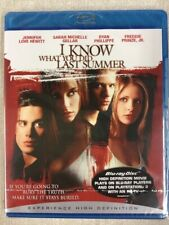 I Know What You Did Last Summer Blu Ray NEW Sealed Free Postage UK