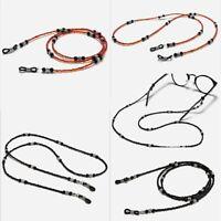 Eyeglasses Chain Sunglasses Handmade Beaded Strap Necklace Holder Hanging Rope