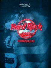 HARD ROCK CAFE HONOLULU HAWAII T-SHIRT SZ L RARE TRUE VINTAGE USA