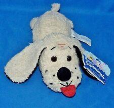 "FLOPPY Tan Dog Soap (Holder) Cloth Plush Bean Bag (8"") Squeezimals 1998 EX"