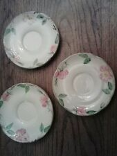 Lot of 3! Vintage Desert Rose USA Backstamp by Franciscan Small Plate