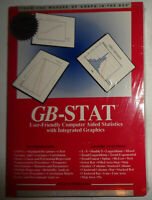 GB-STAT, by New England Software Inc.  BRAND NEW, SEALED