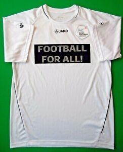 Swiss Football League Jersey Size M Shirt Mens Trikot White Soccer Jako ig93