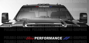 Ford Performance Decal Sticker Graphic 3 COLOR Windshield Car Truck SUV