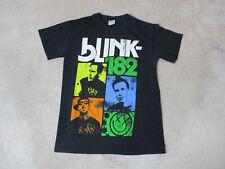 Blink 182 Concert Shirt Adult Small Black 2011 Tour Band Rock Travis Barker Mens