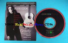CD Singolo JESSE COOK Gravity Z63037PS USA 1996 PROMO no lp mc vhs dvd(S22)