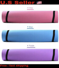 6MM Thick Yoga Mat Comfort Foam Yoga Mat for Exercise, Yoga, and Pilates