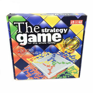 Blokus Board Game Educational Strategy Toy Family Friends Travel Party AU Stock