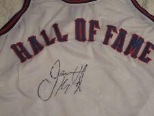 JASON KIDD AUTOGRAPHED CUSTOM BASKETBALL HALL OF FAME JERSEY-RARE JERSEY