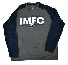 adidas MLS Mens IMFC Impact Montreal FC Climawarm Sweatshirt New XL
