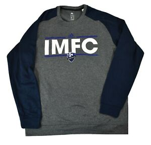 adidas MLS Mens IMFC Impact Montreal FC Climawarm Sweatshirt New XL