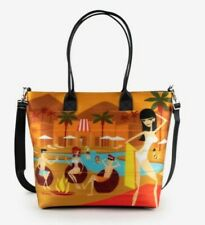 Palm Springs Harvey's Tote designed by Shag Only 300 Made - Vegan Friendly - NEW