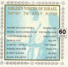 GOLDEN VOICES OF ISRAEL - 9 TRACK MUSIC CD - LIKE NEW - G537