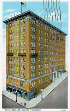 Duluth MN Hotel Holland Postcard 1928