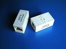 GIGABIT Cat6 RJ45 Inline Ethernet Coupler Joiner Junction Box Extender Ethernet