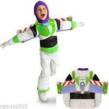 Disney Toy Story Buzz Lightyear Costume Size 10 L New Light-up Wing tips Large