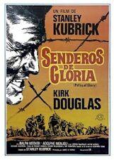 Paths Of Glory (Stanley Kubrick) Spanish Movie Poster