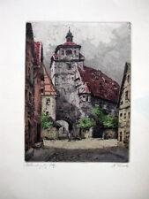 "Karl Tucek ""Rothenburg"""