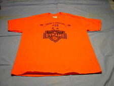 BRAD'S BRIGADE #11 Orange Unite HOUSTON DYNAMO  Orange T'shirt Size L