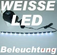 2x30cm LED Lichtleiste flexibel, je12 LED, hell Effektbeleuchtung, Kaltweiß