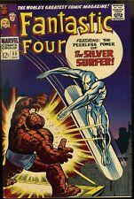 Fantastic Four #55 VF-     Silver Surfer Appearance