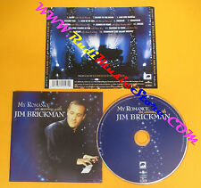 CD JIM BRICKMAN My Romance An Evening With 2000 Europe  no lp mc dvd (CS10)