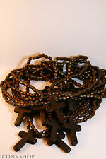 Rosary Beads Prayer Rope Wood Cross For Car четки с деревянным крестом
