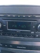 04-10 Chrysler Dodge Jeep Radio Cd Player & Aux Port P05064171AF