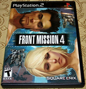 Front Mission 4 Sony PlayStation 2 PS2 System Game Complete Tested Free Shipping