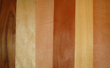 REAL WOOD VENEER 20 LONG  SHEETS FOR CRAFTS,MARQUETRY,REFURBISHMENT OF FURNITURE