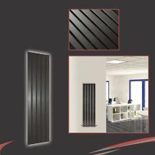 "360 mm (W) x 1250mm (H) ""corwen"" Negro Vertical Radiador 2080 Btu 5 paneles planos"