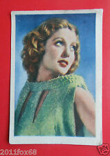 actors acteurs figurine card nestle stars of the silver screen #16 loretta young
